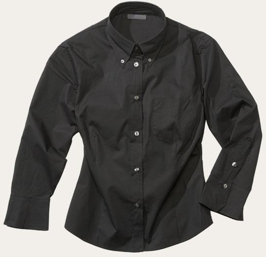 formal black shirt
