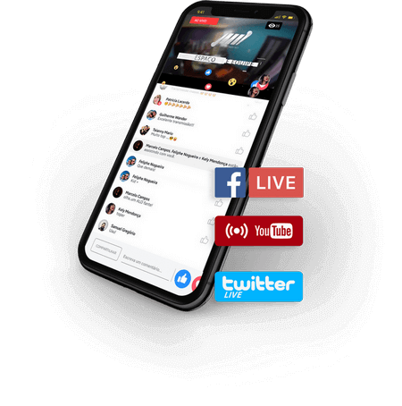 streaming de video social live streaming de video