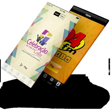 Aplicativos IOS e Android para Rádios e TVS top app