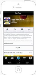 Aplicativos iOS e Android para rádios e TVs onda sul
