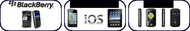 dispositivos móveis streaming de video