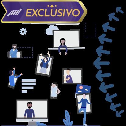 exclusivo ferramenta integrada streaming de video ao vivo 414x412