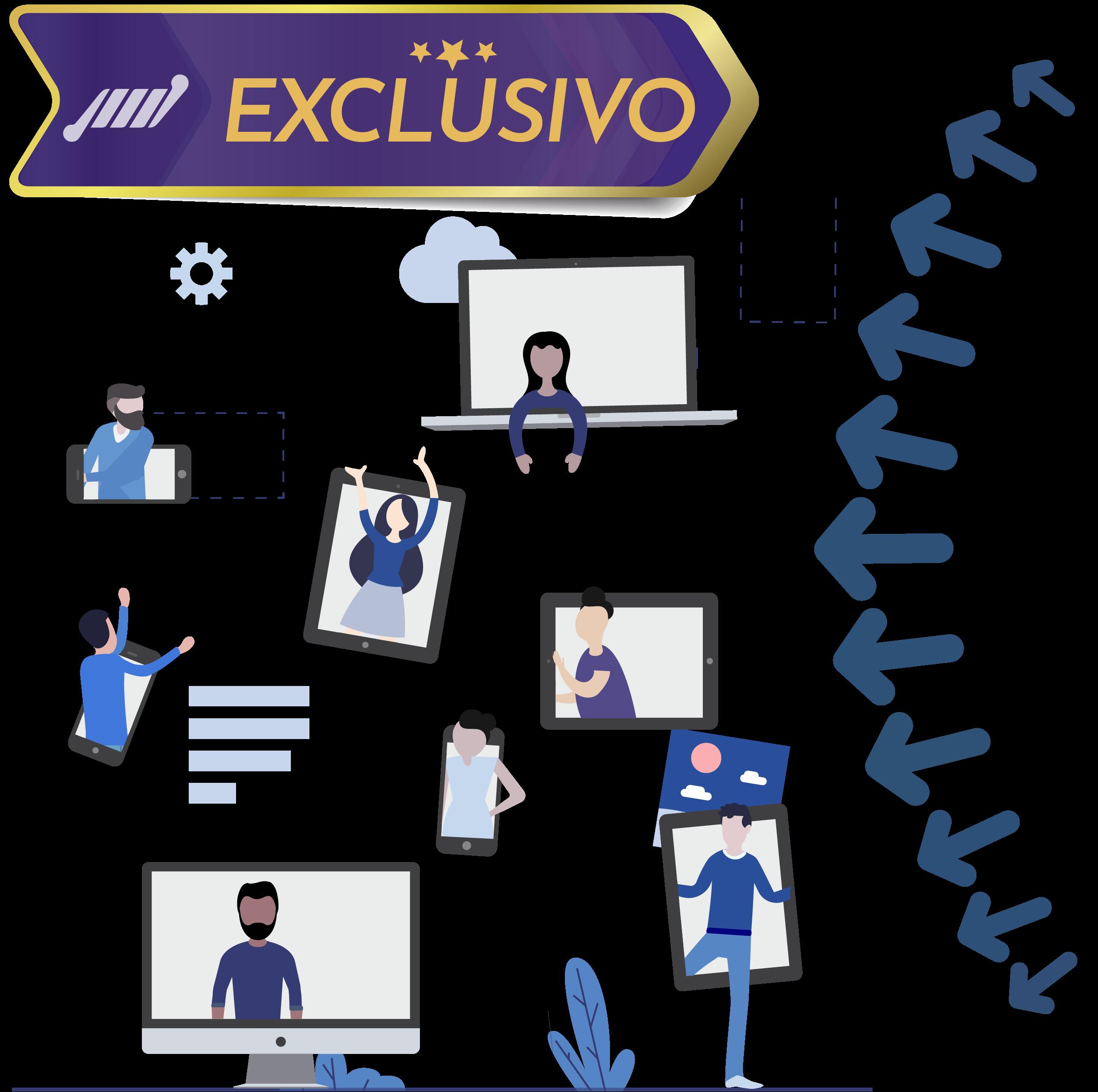 exclusivo ferramenta integrada streaming de video ao vivo