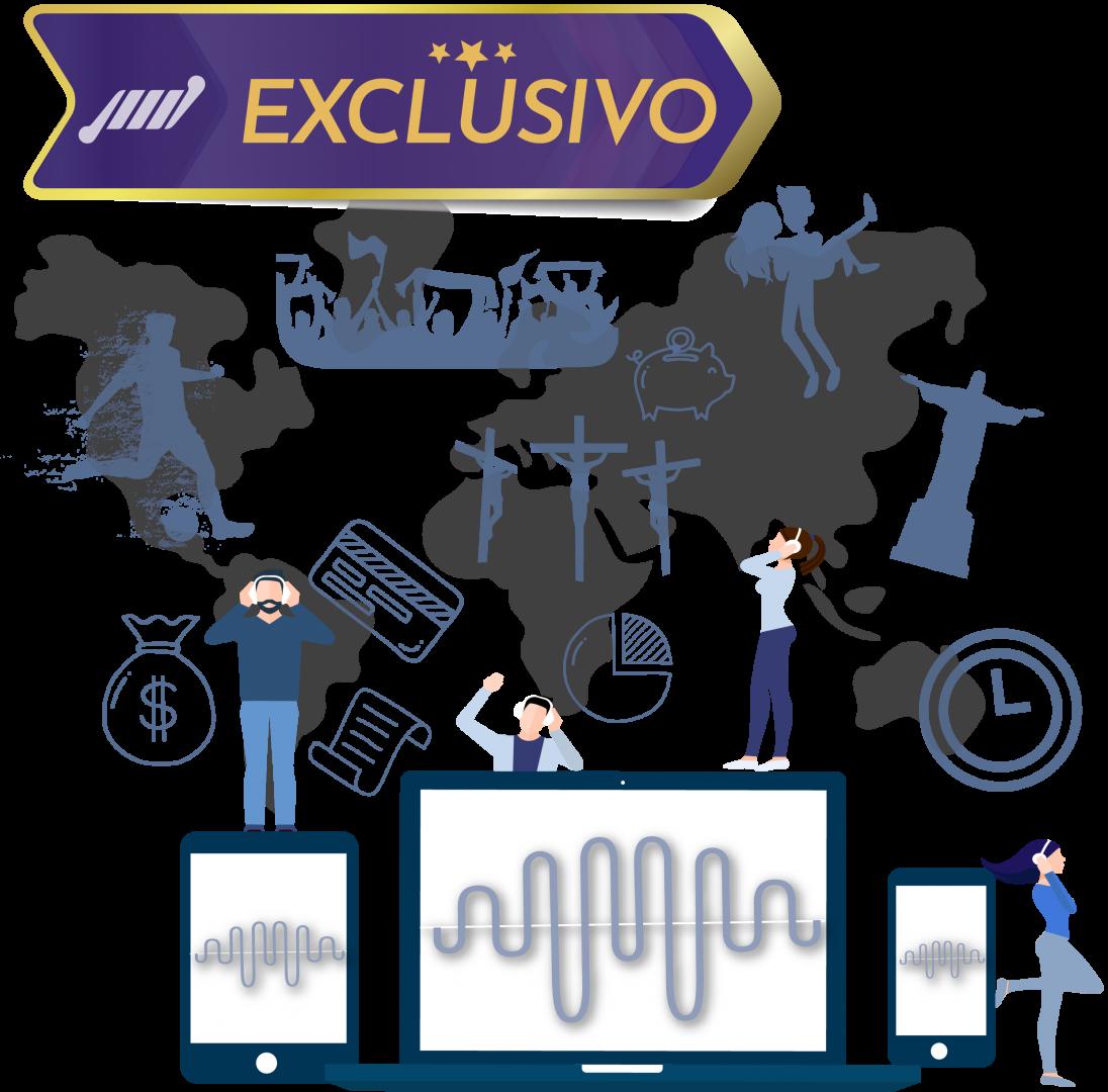 exclusivo programetes streaming de audio