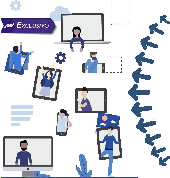 imagem ferramenta integrada streaming para web tv