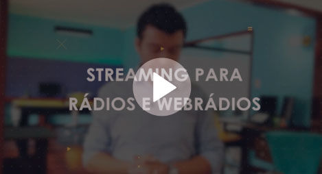 streaming para radio e web radio