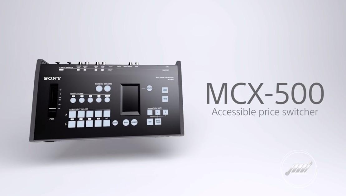 Mesa de corte de video sony mcx 500