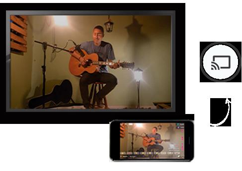 secao jmv player imagem streaming de video ao vivo