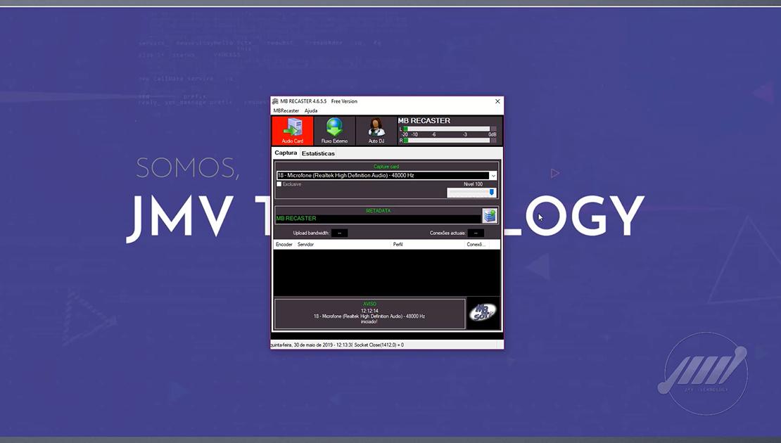 tela mb recaster mb recaster tutorial mb recaster como configurar o mb recaster como transmitir no mb recaster como transmitir audio no mb recaster streaming de audio streaming de audio 1