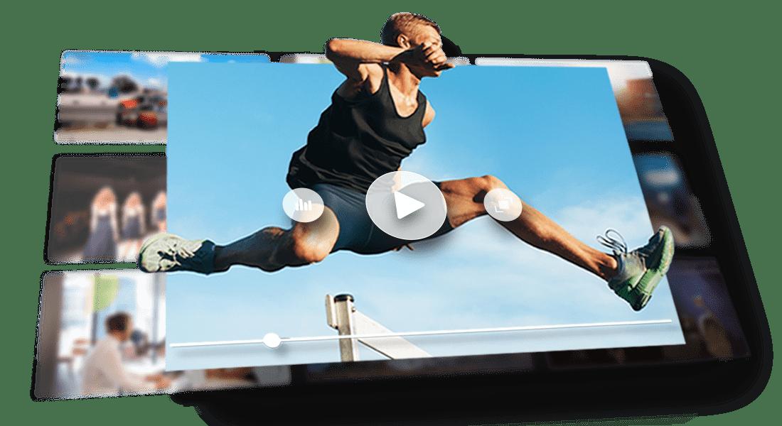 player de alta performance desempenho carregamento rapido delay reduzido streaming de video ao vivo a sitehosting