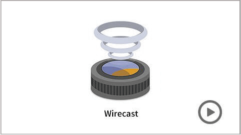 wirecast streaming de video hd